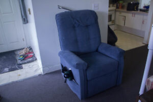 Comfortable ADJUSTABLE ELECTRIC RECLINER CHAIR (with Footrest)
