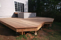 FREE  DECKING ESTIMATES - FULLY INSURED - REFERENCES AVAILABLE!