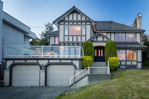 Ocean View House in Dundarave North Shore Greater Vancouver Area image 1