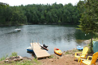 WATERFRONT HOME/4SEASON COTTAGE ON LAC BRULE