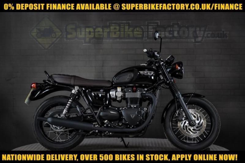 2016 66 Triumph Bonneville 1200 T120 1200cc 0 Deposit Finance