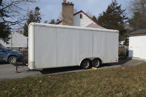 FS: Enclosed 8.5x20 Cargo Trailer - Excellent Condition