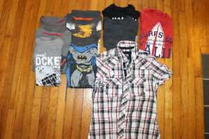 Size 8 Boys Clothing - 14 items!