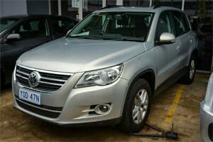 2009 Volkswagen Tiguan 5NC MY10 125 TSI Silver Leaf 6 Speed Tiptronic Wagon Fyshwick South Canberra Preview