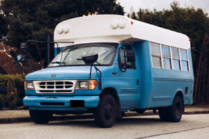 Converted 1998 Ford E350 School Bus