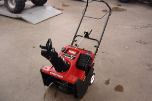 Toro CCR 3650 Power Curve Single Stage Snowblower