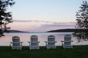 Camp on Lake Superior (near Rossport)