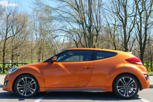 2016 Veloster Turbo, semi auto with paddle shifting