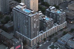 Condo 3 1/2 - downtown Montreal - Le Seville -September 1st