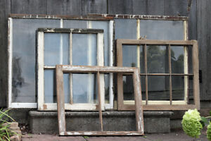 Antique / Vintage Shabby Chic Window Frames