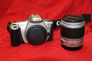 Canon EOS Rebel 2000 film SLR with 28 – 90 mm Canon lens