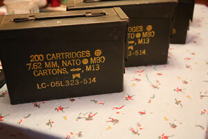 4 Ammo Boxes(metal)