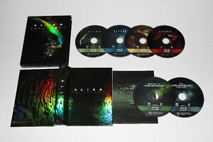6X BLU RAY-ALIEN ANTHOLOGY-COMPLETE COLLECTION-FILM/MOVIE