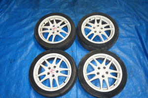 JDM Honda Integra Type R Acura RSX Rims Wheels Mags 5x114.3 17x7