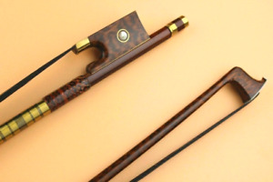 Bows,Violin/Viola, Snakewood 4/4 full size Black Horse Hair