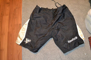 PITTSBURGH PENGUINS PRO STOCK LARGE PANT SHELLS. NHL