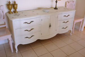 French Shabby Chic Dining Room Buffet