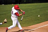Recherche équipe de Baseball pour jouer cet été