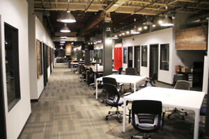 Office for lease in beautiful Hamilton coworking space!