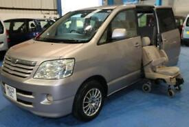 Toyota Noah Wheelchair accessible car, wheelchair and lift included. Automatic