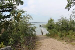 Large LAKEFRONT Lot at Indian Point Turtle Lake!-Amazing View!