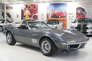 1969 Chevrolet Corvette Hardtop and Softop Convertible