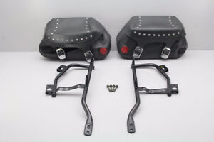 Yamaha Road Star 2005  1700 Left and  Right Saddlebag MOUNTS