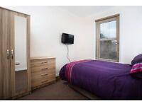 MODERN ROOMS TO RENT,NO DEPOSIT, ALL BILLS INC. SKY +TV, WIFI,FULLY FURN.
