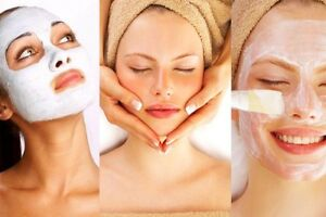 10 different type of facials each $50