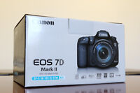 Canon 7D Mark II Kit: Includes 18-135mm IS STM Lens. Not 70D