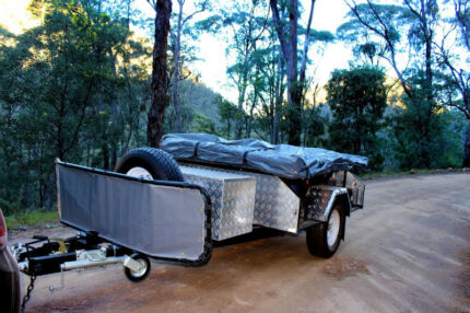 Off Road Family size Camper Trailer. PMX Buckland Series: SE Wangara Wanneroo Area Preview