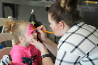 Now hiring Face Painters! No experience necessary!