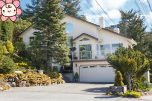Colwood/Langford area, 4BD/2BA ocean + mountain view single hous