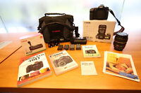 Canon 40D Kit&Bettery Grip&Camera Bag+4GB Card UV Etc. ONLY 749