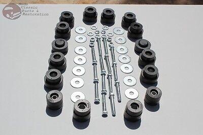 Body Mount Frame Bushing Bolt Hardware Kit Chevelle Olds Cutlass 442 Convertible ()
