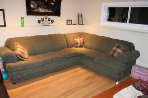 sectional with pullout couch SOLD PPU