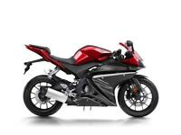 2018 REGISTERED YAMAHA YZF R125 ABS. 18 MODEL PLUS 200 POUNDS