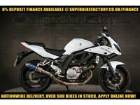 2013 13 SUZUKI SV650S 650CC 0% DEPOSIT FINANCE AVAILABLE
