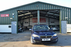 2011 BMW 520 2.0TD F10 MANUAL DIESEL LOW MILEAGE BLUE PX WELCOME