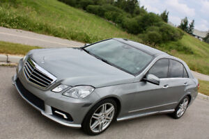 2010 Mercedes-Benz E-Class E350 AMG SPORT Sedan