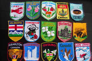 1970's CITY&PROVINCE BADGES