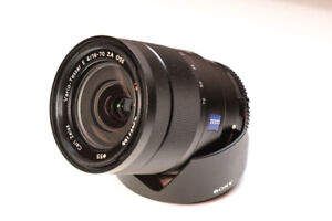 Sony Zeiss 16-70mm f/4 zoom lens