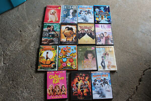 dvds all for $20  or $4 each