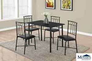Brand NEW Black Metal Dinette set!! Call 807-346-4044