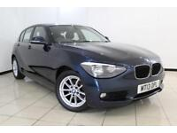 2013 13 BMW 1 SERIES 2.0 118D SE 5DR 141 BHP DIESEL