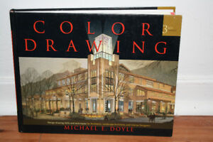 BRAND NEW BOOK-  COLOR DRAWING BY MICHAEL E.DOYLE