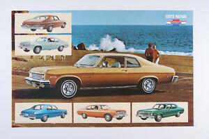 Brochure Chevy Nova 1973