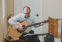 Professional Guitar Lessons by Qualified/Experienced Teacher