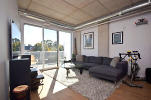 Stunning Condo with In Unit Laundry and a Rooftop Terrace