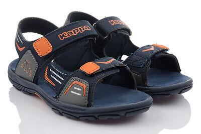 Grau Kinder Schuhe (KAPPA PURE K Kinderschuhe Neu Sandalen Grau Mädchen Jungen 260594K/6744 SALE)